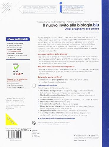 Il nuovo invito alla biologia.blu. Dagli organismi alle cellule. Per le Scuole superiori. Con Contenuto digitale per accesso on line