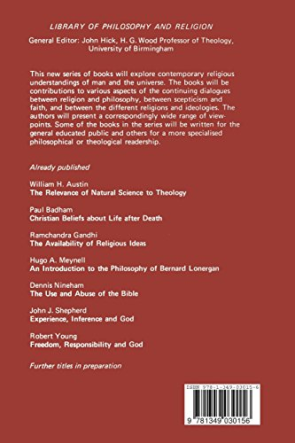 Christian Beliefs about Life after Death (Library of Philosophy and Religion)