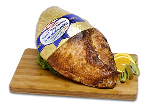 Truthahn,feines, zartes Putenfleisch, Truthahnbrustfilet am Knochen ca.2,5kg küchenfertig von...