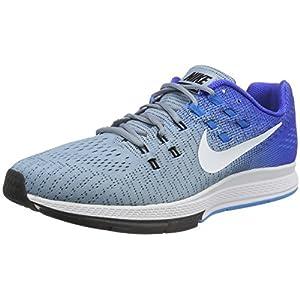 Nike Air Zoom Structure 19, Zapatillas de Running para Hombre, Azul Grey/White-Racer Blue Glow, 40 1/2 EU
