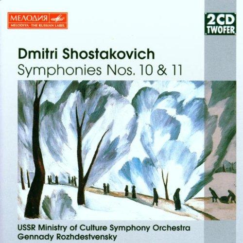 Preisvergleich Produktbild Two CD Twofer - Schostakowitsch (Sinfonie Nr. 10-11,  Puschkin-Monologe)