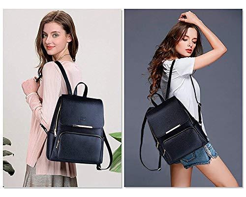 Diving Deep Black Casual Backpack for Stylish Girls Shoulder College/School Bag Image 5