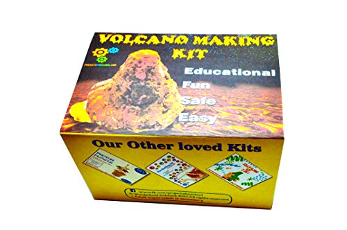 ProjectsforSchool Natural Disaster Project - Make A Volcano - Science Projects Working Models - DIY Science Experiment Kit