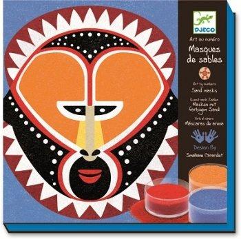 Preisvergleich Produktbild Masken aus farbigem Sand von Djeco