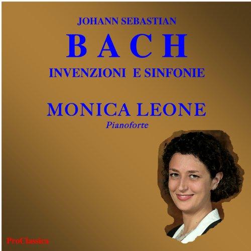 Johann Sebastian Bach, invenzioni e sinfonie: Sinfonia in mi bemolle maggiore BWV 791 ( nella (Digitale Abbellimenti)