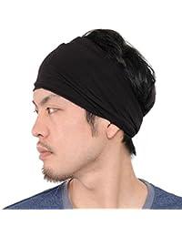 6b354ddb3 Casualbox Hombre Elástico Bandana Cinta Para El Pelo Venda Japonés Largo  Cabello Rastas Cabeza Envolver