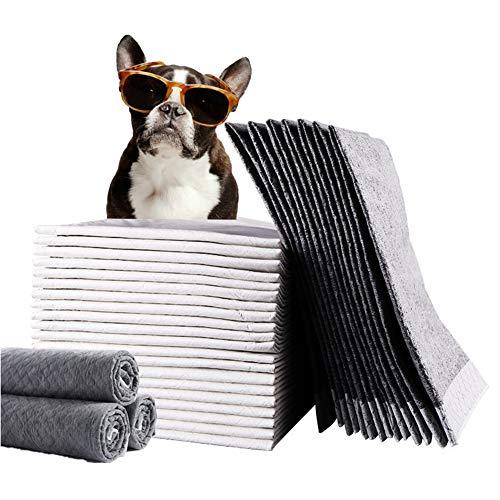WXLJJYPD Carbone Attivo Tappetini Assorbenti per Addestramento Cuccioli Super Assorbenti, Protegge Pavimenti Laminati E Tappeti dal Cattivo Odore,M