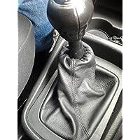 Opel Zafira A cuffia leva cambio vera pelle nera