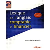 Lexique de l'anglais comptable et financier