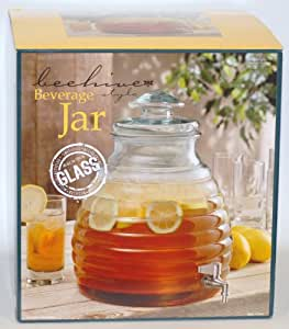 Beehive Distributeur de boisson avec robinet en métal