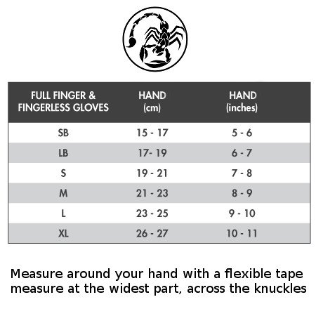 Scorpion-Power-Lifting-CrossFit-Gripp-Gloves-Black-Small
