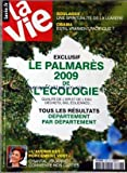 VIE (LA) [No 3346] du 15/10/2009 - SOULAGES / UNE SPIRITUALITE DE LA LUMIERE -OBAMA / EST-IL VRAIMENT PACIFIQUE -LE PALMARES 2009 DE L'ECOLOGIE - TOUS LES RESULTATS DEPARTEMENT PAR DEPARTEMENT -L'AVENIR EST FORCEMENT VERT / CHANTAL JOUANNO