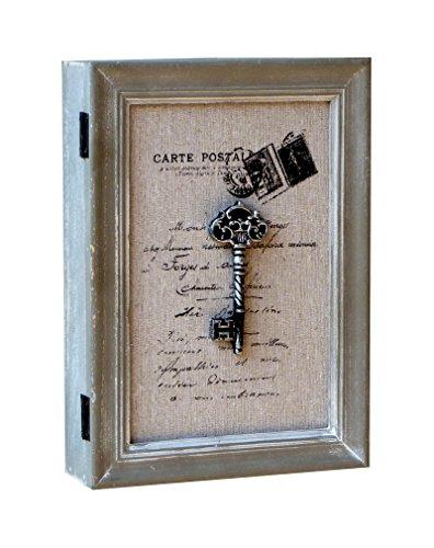 Wunderschöner Schlüsselkasten aus Holz Shabby Chic Landhaus Vintage 21x28x6cm