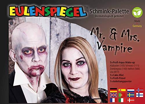 d Frau Vampir Schminkpalette ()