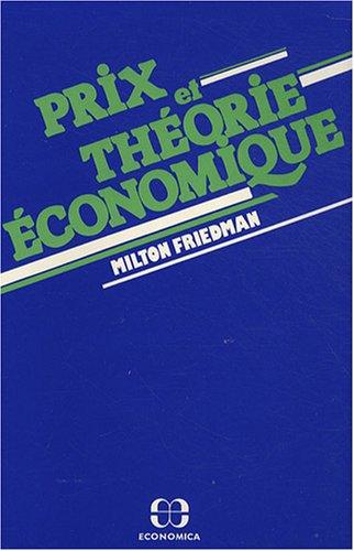 Prix et théorie économique