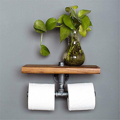 lloween/Dekoration/Regal Wasser Rohr Handtuch Rack, europäischen Stil antike WC-Papier-Rahmen, Wasser-Rohr, Papier-Handtuch-Rack, WC-Regal, WC-Rack, Toilette hanging Storage Rack Toilette/Storage-Rack (30 * 15 cm) (Halloween-papier-handtücher)