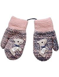 0a3fa0e022 Lenfesh Baby Handschuhe, Niedliche Baby Jungen Mädchen Kleinkind  Winter-warmen Warm Full Finger Baumwolle Fäustlinge…