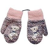 Lenfesh Baby Handschuhe, Niedliche Baby Jungen Mädchen Kleinkind Winter-warmen Warm Full Finger Baumwolle Fäustlinge Handschuhe