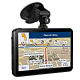 7 Inch 8GB Sat Nav GPS Navigation for Car and Touchscreen Including Pre-installed UK & EU Maps With Free Lifetime Updates
