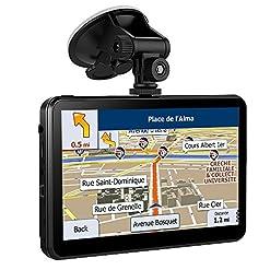 17,8cm 8GB navigatore satellitare GPS per auto, schermo touch incluso preinstallato UK e EU Maps for free Lifetime aggiornamenti