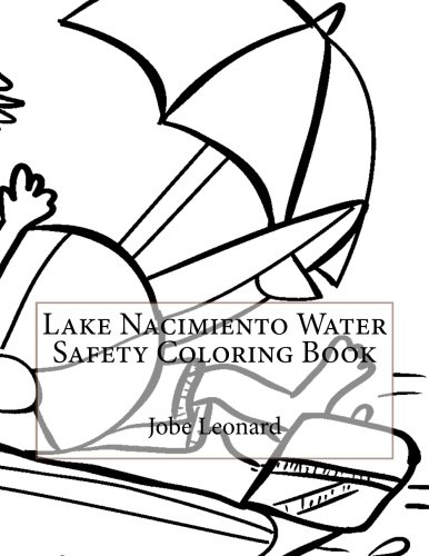 Lake Nacimiento Water Safety Coloring Book
