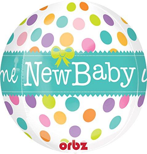 * NEW BABY * zur Geburt von einem Baby // Welcome Pillerparty Deko Dekoration Mädchen Junge Geburtstag (Geburt Dress Up)