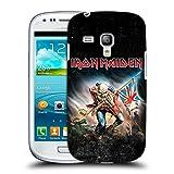 Head Case Designs Offizielle Iron Maiden Trooper 2016 Kunst Ruckseite Hülle für Samsung Galaxy S3 III Mini