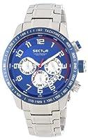 Reloj Sector R3273975001 de cuarzo para hombre con correa de acero inoxidable, color plateado de Sector