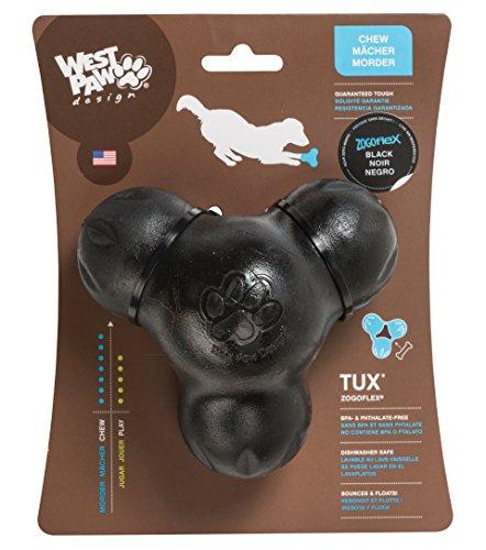 west-paw-zogoflex-dog-chew-toy-tux-large-black