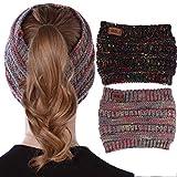 vamei Hoofdbanden voor Vrouwen Haar Hoops met Bee Animal Turban Hoofd Wrap Cross Knot Haarbanden met Doek Verpakt voor Meisjes Haaraccessoires Stripe Hoofdbanden 4 Stks (A)