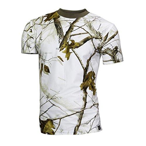 Raptor Hunting Solutions Herren Realtree APSnow Camo T-Shirt
