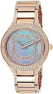 Michael Kors Women's Kerry Rose Gold-Tone Watch Mk3482, Analog Dis