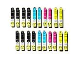 20 Epson kompatible Druckerpatronen T1291 - T1294 für Stylus Office BX 305 F/320 FW/525 WD/625 FWD und Stylus SX 420 W/525/620