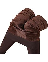 Femmes d hiver épais Molleton Chaud Jambières doublées, Femmes Sexy  Pantalon Extensible Thermique 276e12686577