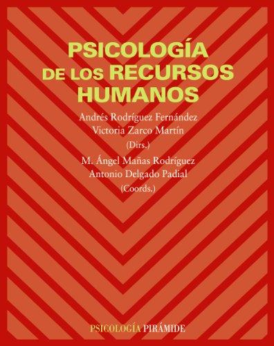 Portada del libro Psicología de los recursos humanos