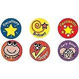 Sticker Solutions Mini - Pegatinas para profesor (forma redonda, 234 unidades)