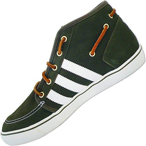 Adidas Originals Hommes Escarpins Deck Vulc Mi v24025 homme classique Chaussures basses marron (Oak / blanc / whtv )