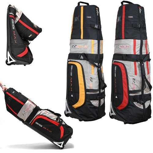 Big Max Travelcover EZ Roller Rot Golf Reisebag