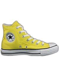 2scarpe converse gialle