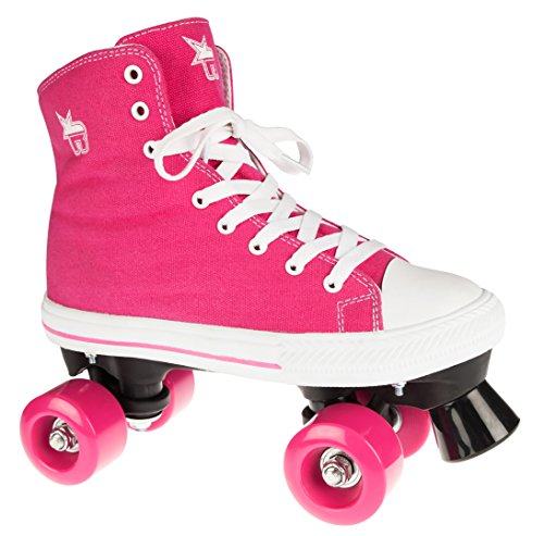 Rookie Canvas High Patines, Mujer, Pink, 38