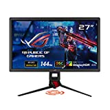 ASUS ROG Strix XG27UQ DSC Gaming Monitor - 27-inch 4K UHD (3840 x 2160), 144Hz, G-Sync compatible ready, DSC, DisplayHDRTM 400, DCI-P3 90%, Adaptive Sync, Shadow Boost, 1ms MPRT