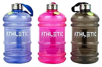 Water Jug - Sport Trinkflasche - ATHLETIC AESTHETICS - Wasser Kanister 2.2 Liter - Trinkflasche - BPA FREE
