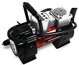Noone 12 V DC compresor de aire bomba inflador de neumáticos Digital, portátil con luz LED por 120 PSI, para coches Motos Aire matresses.