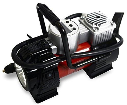 NoOne 12V DC Portable Air Kompressor Pumpe Digital Reifen Inflator 120 PSI 30 L / min mit LED Licht für Autos Fahrräder SUV Luft Matratzen. (Portable Luft-pumpe Für Auto)
