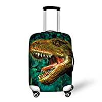 "chaqlin Animal Printed Lugagge Covers Protector Suitcase Cover Case Fit for 18"" 20"" 22"" 24"" 26"" 28"" Luggage"