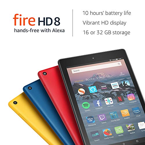 Fire HD 8 Tablet, 16 GB, Black-with Special Offers