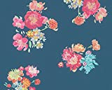Oilily Home Vliestapete Oilily Atelier Tapete floral 10,05 m x 0,53 m blau bunt Made in Germany 302731 30273-1