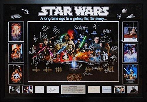 star-wars-autographed-collage-poster-signed-in-framed-case