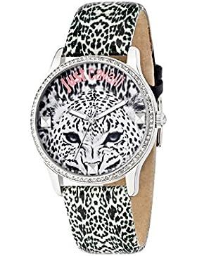 Just Cavalli Damen Uhrenbeweger Collection JUST PARADISE Edelstahl mehrfarbig R7251211502