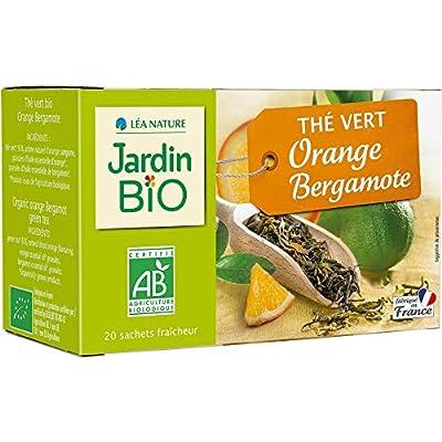 Jardin Bio Thé Vert Orange Bergamote 30 g parent
